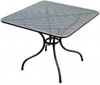 Kovový zahradní stůl TAKO 90x90cm - U504