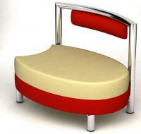 designové křeslo ORO K124-6 střední část kombinovaná