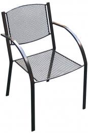 zahradná kovová stolička MILANO U009