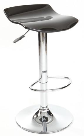 MERCURY barové židle BOLT černá