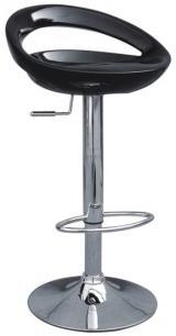 barové židle PABLO bílé