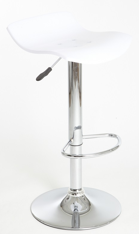 MERCURY barové židle BOLT barva bílá průhledná