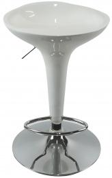 barové stolička EMILIO farba bílá