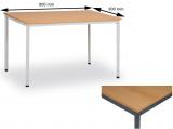 Jídelní stůl 80 x 80 cm deska buk