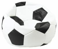 sedací vak EUROBALL velký, SK2-SK3 bílo-černý