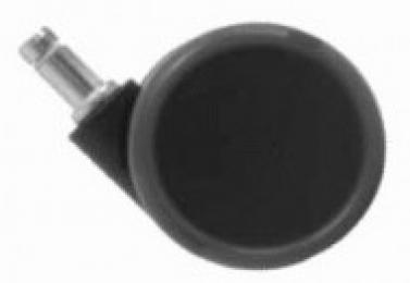 sada koleček zátěžových TREND, pogumovaná, průměr 65mm, čep 11mm