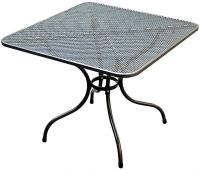Kovový záhradný stôl TAKO 105x105cm - U505
