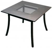 Kovový zahradní stůl PL 90x90cm - U511
