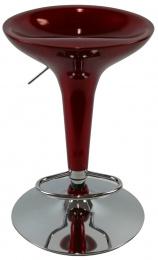 barové stolička EMILIO farba vínově rudá