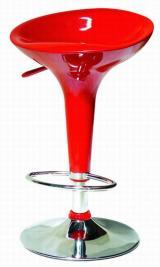 barové židle EMILIO barva vínově rudá kancelárská stolička