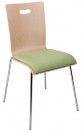 Konferenčná stolička TULIP čalúnený sedák