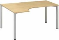 ALFA 200 stůl kancelářský 221, 180x120 cm rohový levý
