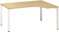 ALFA 200 stôl kancelárský 220, 180x120 cmrohový pravý