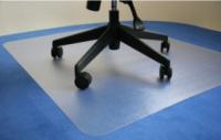 Podložka pod židli transparentní 120x98cm