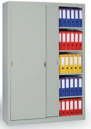 Archivační skříň se zasouvacími dveřmi 186301 šedá