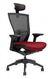 kancelárska stolička MERENS s podhlavníkem