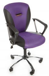 židle MATIZEK PURPLE fialová kancelárská stolička