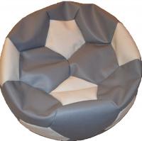sedací vak EUROBALL velký, SK1-SK2 šedobílý