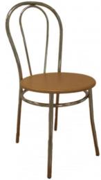 Jedálenská stolička TULIPÁN - dřevěný sedák