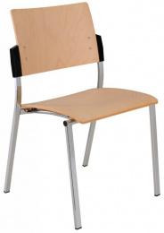 stolička SQUARE dřevěná
