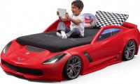 Dětská postel auto CORVETTE