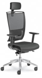kancelárska stolička LYRA NET 201-SYS
