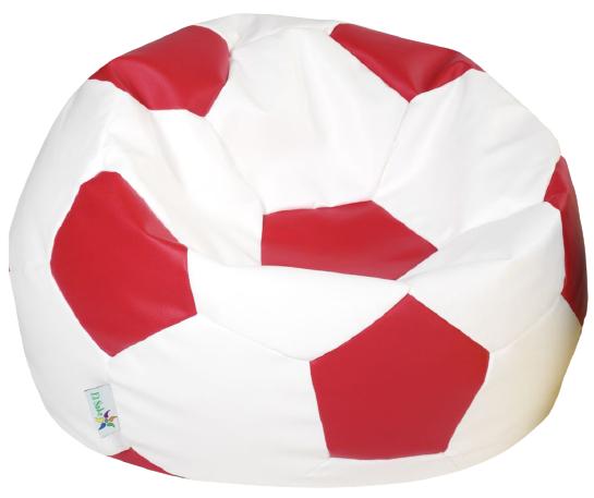 ANTARES sedací vak EUROBALL velký, bíločervený
