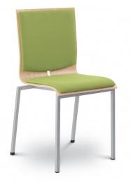 Konferenčná stolička TWIST 242-N2, kostra šedá
