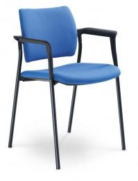 konferenčná stolička DREAM 110/B-N1, kostra čierna