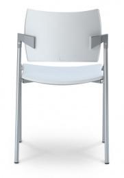 konferenčná stolička DREAM 111-N4 plast, kostra chrom