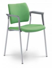stolička DREAM 111/B-N2, kostra šedá