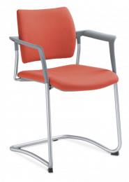 stolička DREAM 131/B-N2, kostra šedá
