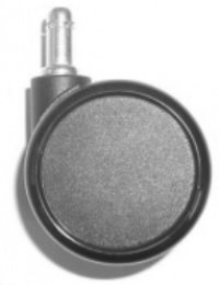 Kolečko PLU 1061, 11 mm, s gumovou obručí