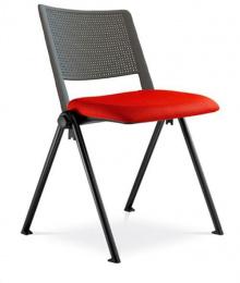 konferenčná stolička GO! 115-N1, kostra čierna
