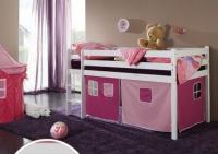 dětská vyvýšená postel 7 - růžová