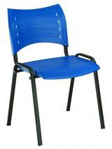 židle SMART plast, kostra černá