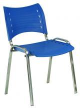 židle SMART plast, kostra šedá