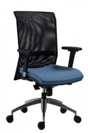 kancelárská stolička 1580 SYN GALA NET ALU