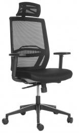 stolička ABOVE čierná