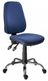 pracovná stolička 1140 ASYN C chrom