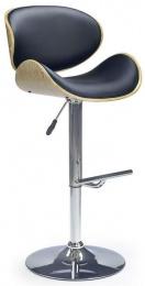 barová stolička H44 čierná