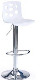 barová stolička H48 bielá