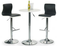 Barový stôl SB1 bílý - výškovo nastaviteľný