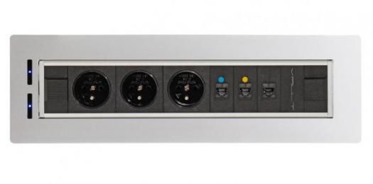 Elektrifikace Vault BTCZ V 002 -Zásuvky přímo na vašem stole