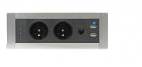 Elektrifikácia Vault PTCZ 016 -Zásuvky priamo na vašom stole