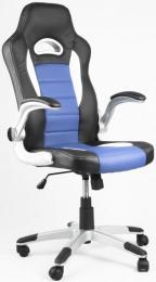 kancelářské křeslo LOTUS černo-modré