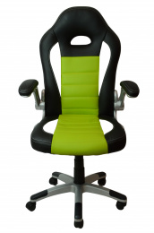 kancelářské křeslo LOTUS černo-zelené