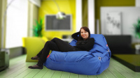 Sedací pytel 189x140 comfort s popruhy dark blue