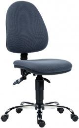 kancelárska stolička PANTHER ASYN C D5 sivá