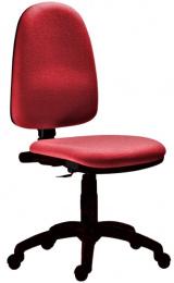 pracovná stolička 1080 MEK D3 červená